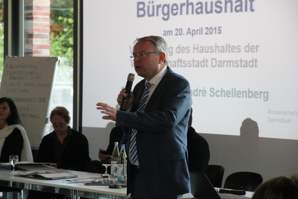 Stadtkämmerer André Schellenberg