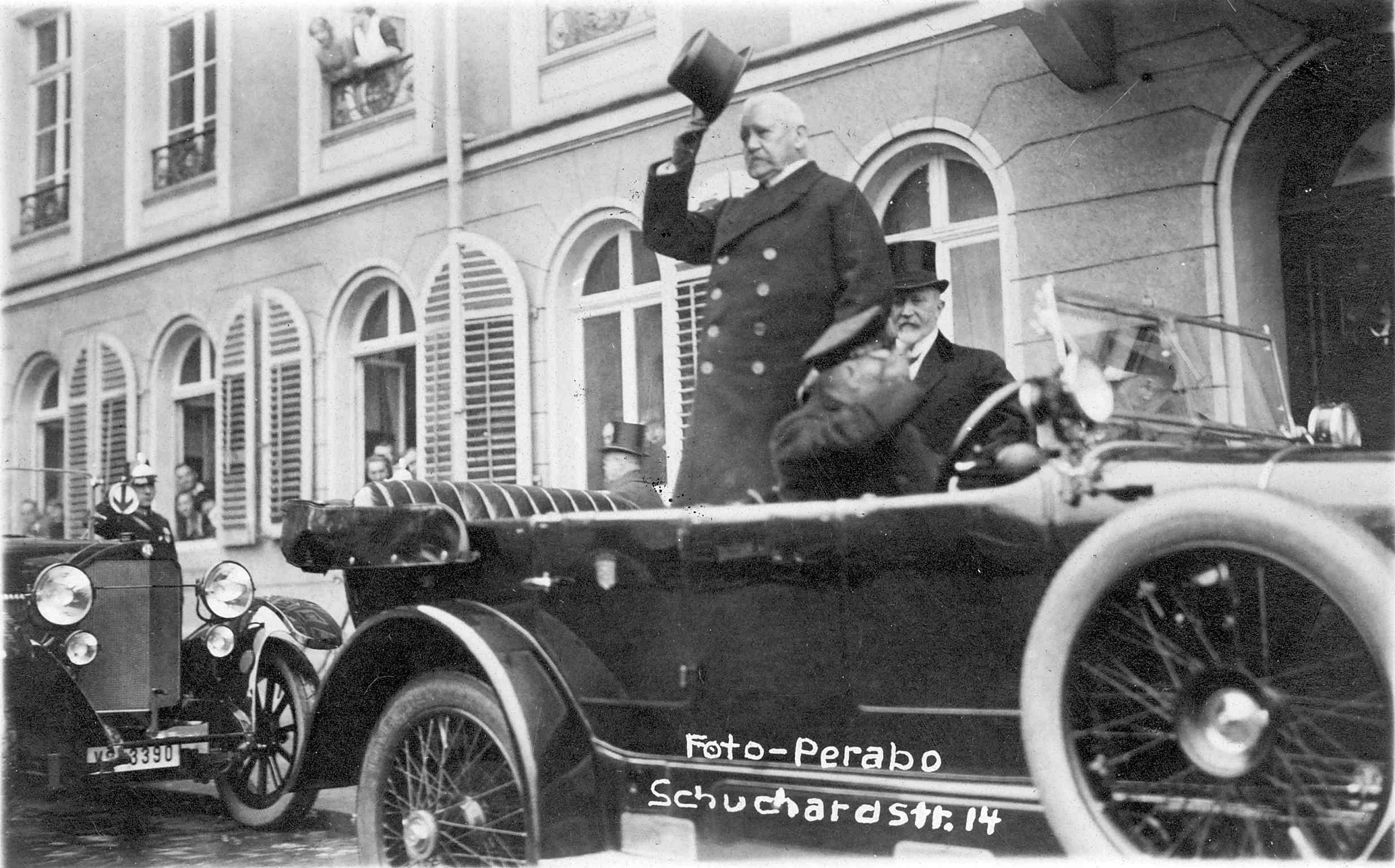 Foto Paul von Hindenburg
